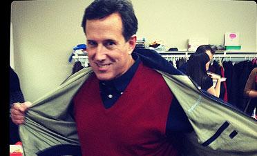 Santorum's sweater vest
