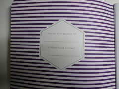 May Designs inside cover
