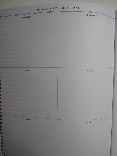 May Designs goal/celebration pages